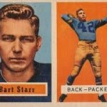 Bart Starr Rookie Card Among Trio of 1957 Topps Icons