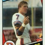 1984 Topps John Elway Rookie Card:  Beginning of an Era