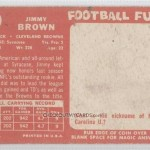 Jim Brown Rookie Card