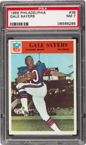 1966 Gale Sayers rookie card
