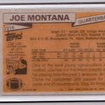 Joe Montana Rookie Card