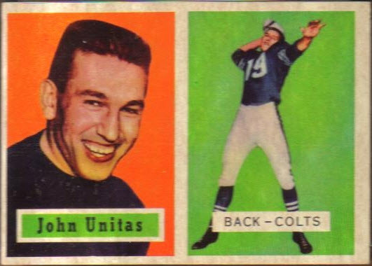 Johnny Unitas Rookie Card Among Greatest Ever Vintage Graded