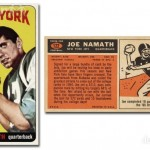 Joe Namath Rookie Card Stands Tall