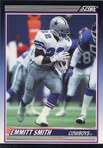 Emmitt Smith 1990 Score Update
