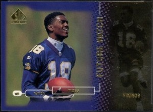 Randy Moss rookie 1998 Upper Deck SP Authentic